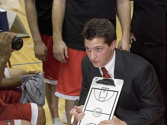 New Aces' assistant Chris Sparks, pictured here in 2006, was the head coach of the Canterbury Rams in New Zealand's National Basketball League.