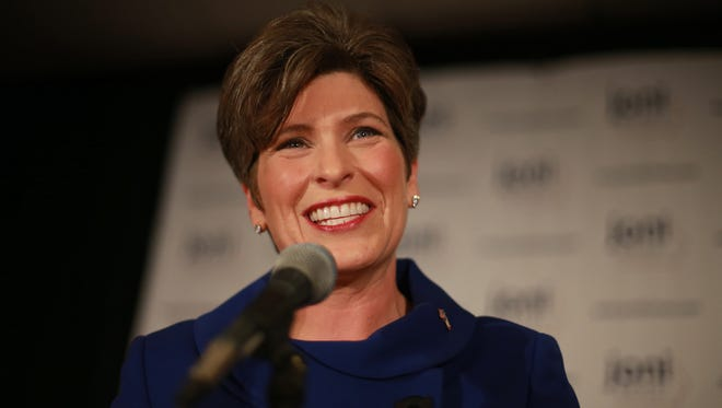 Most millennials in Iowa can't name this woman. It's U.S. Sen. Joni Ernst of Iowa.