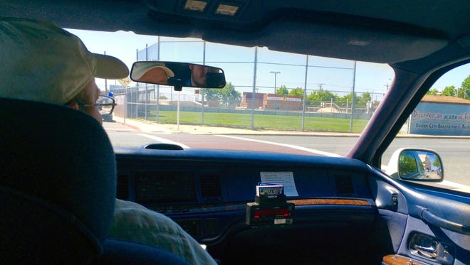 Ladd Layton has been driving taxis in Ocean City for eight years.