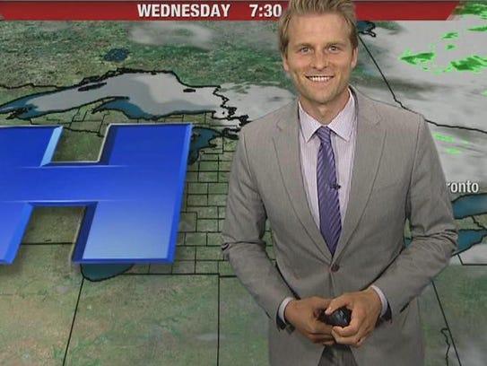 Fox 2 Detroit meteorologist Alan Longstreet.