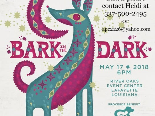 The Bark in the Dark fundraiser will take place on