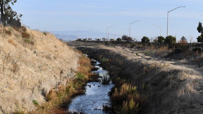 Alisal Creek in Salinas