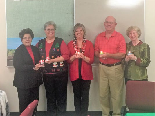 LCMC auxiliary new officers