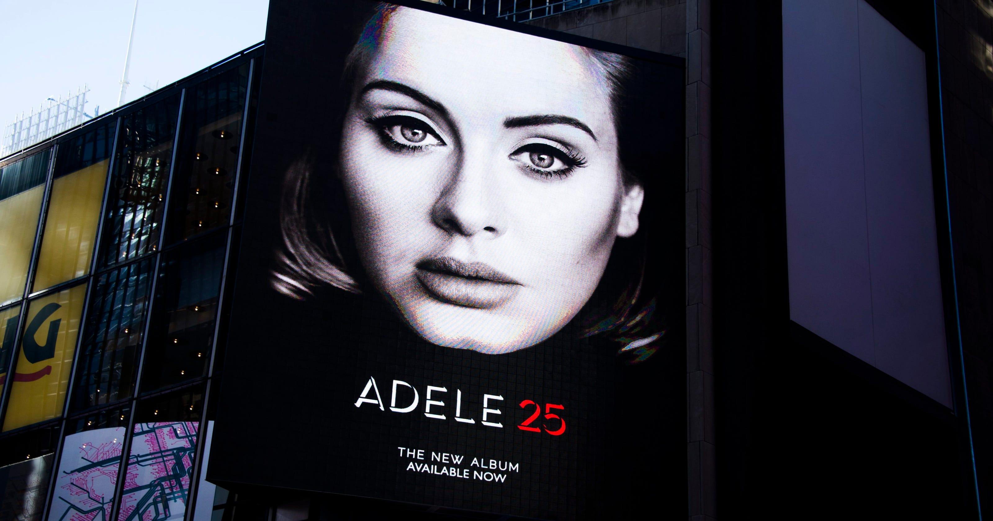 Adele's '25' Has Biggest Sales Week In History