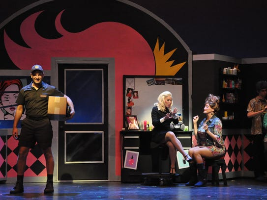 """""""Legally Blonde,"""" a 2015 production of Naples Players"""