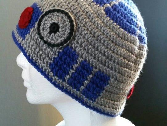 Knit hat, $30.