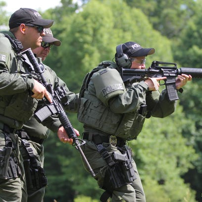 Black Mountain's Special Response Team keeps police in constant state of preparedness