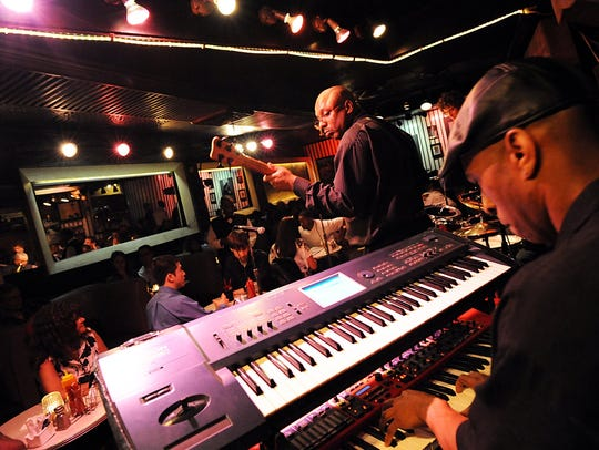 Smooth Operation, from Flint, performs at Baker's Keyboard