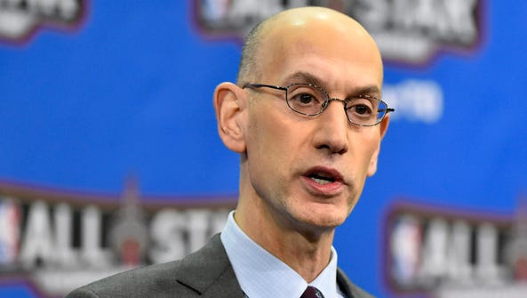 NBA commissioner Adam Silver and the owners and the