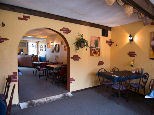 Itacate, 1859 Penfield Road in Penfield, features cheery décor with brightly painted stucco and coordinating canvases painted by chef and co-owner Lourdes Abarca, who owns the restaurant with her husband, Jose.