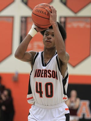 DeAnthony McCallum hit the go-ahead jumper with 35 seconds to play as Anderson beat Glen Este Friday.