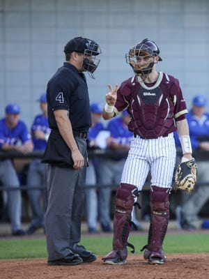 Dalton Todd and ULM will play a home-and-home series with Northwestern State beginning on Tuesday.