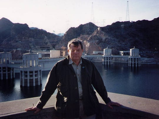 Pete Caldwell, shown in January 1995 at the Hoover