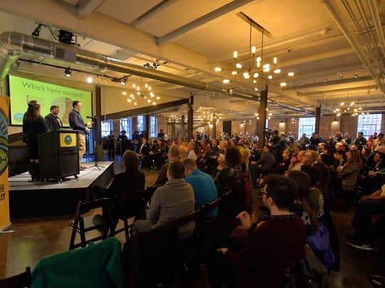 Hudson Valley Tech Meetup co-founders Daniel Schutzsmith,