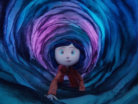 """The stop-motion animated """"Coraline,"""" based on the Neil"""