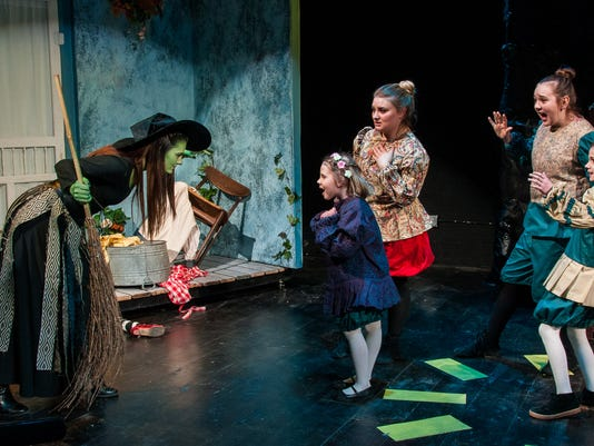 Enter Stage Right Reveries of Oz