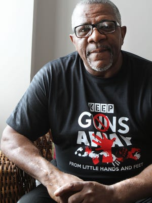 Luther Brown is an advocate for gun safety. He educates people about how to keep guns in a safe way, including distributing gun locks and developing tools to teach gun safety.