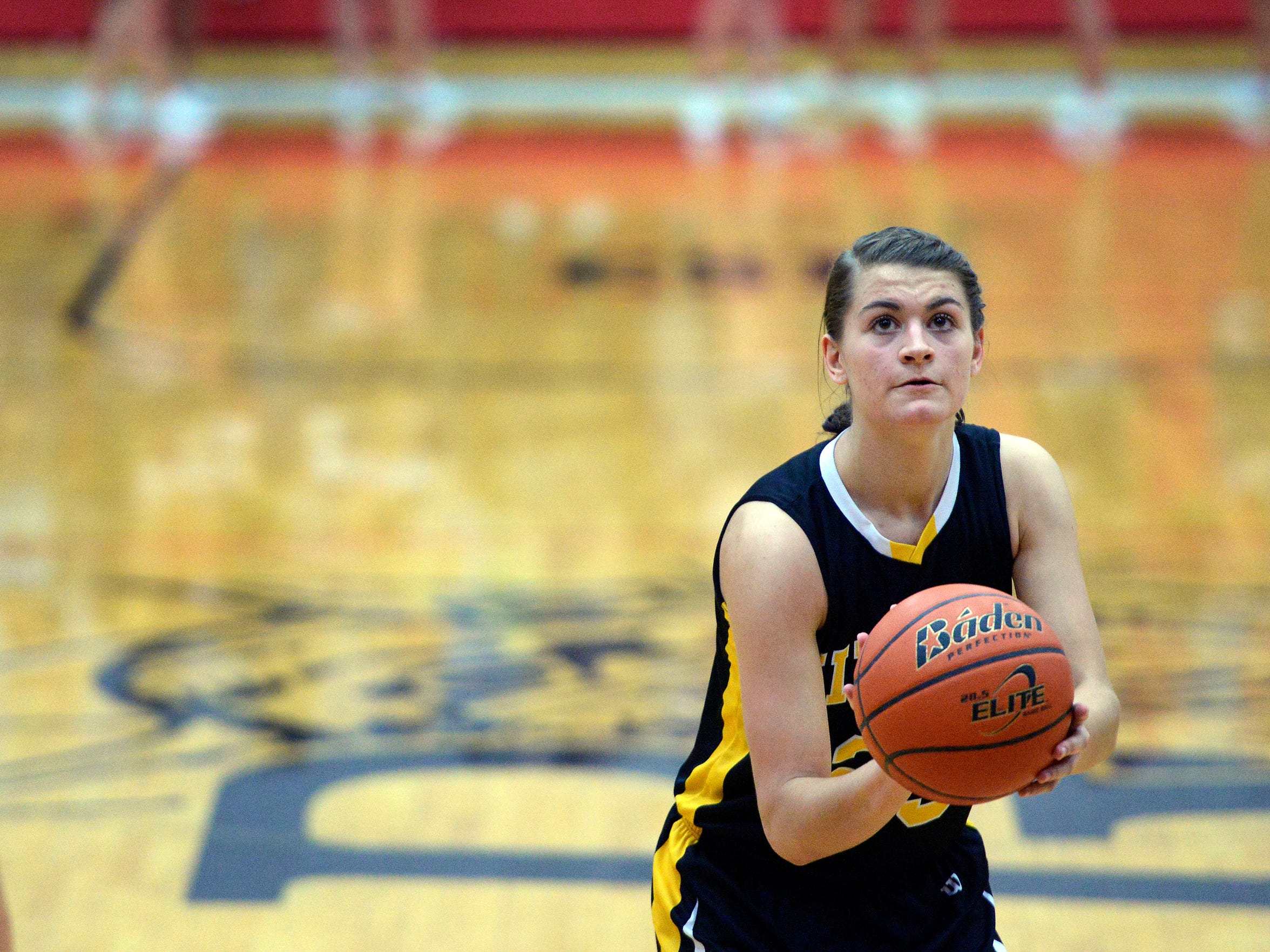 Macy Miller comes from a storied basketball family in Mitchell. Her cousin is NBA veteran Mike Miller.