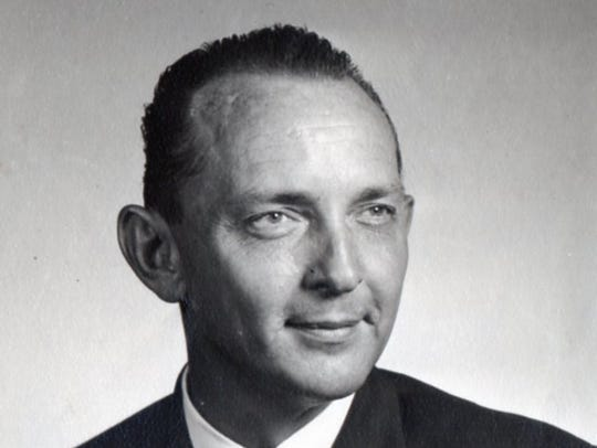 Berry C. Williams, pictured in 1957, wrote about his