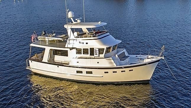 The Kadey-Krogen 50 Open is one of seven of the Stuart-based company's yachts featured at this year's TrawlerFest taking place at the Hutchinson Island Marriott Marina in Stuart through Sunday.