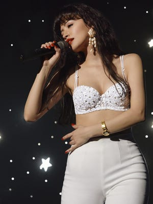 """Mexican-American Tejano singer Selena (Christian Serratos) comes of age as she realizes her dreams in """"Selena: The Series,"""" premiering in December on Netflix."""