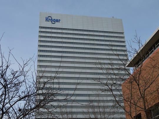 Kroger is based in downtown Cincinnati.