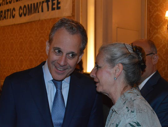 NY Attorney General Eric Schneiderman, who spoke with
