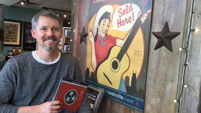 """The """"Spirit of Nashville"""" collection from Joel Anderson's Anderson Design Group has 150 poster designs."""