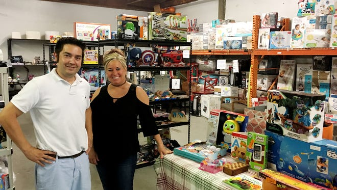 Shivoo owners Josh Perona and Shelley Carver offer a treasure hunting shopping experience.