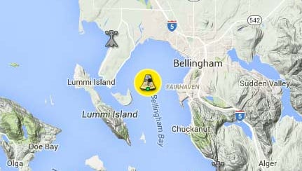 A new buoy is sending near-real-time data on water conditions in Bellingham Bay.