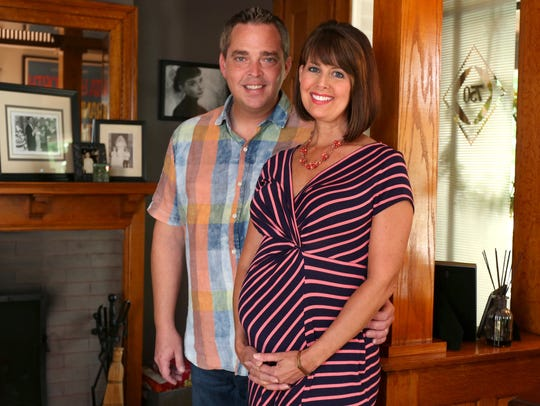 Michael and Erin Kiernan are expecting their first