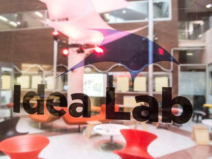 The Idea Lab is located on the first floor of Engineering Building II.