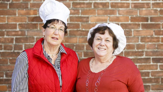 Sandy Brady, left, and Vickie Hilgemann with the Salem-Keizer Assistance League.