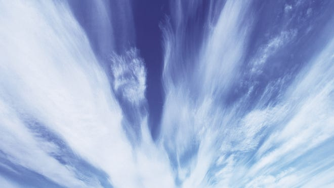 Windy skies