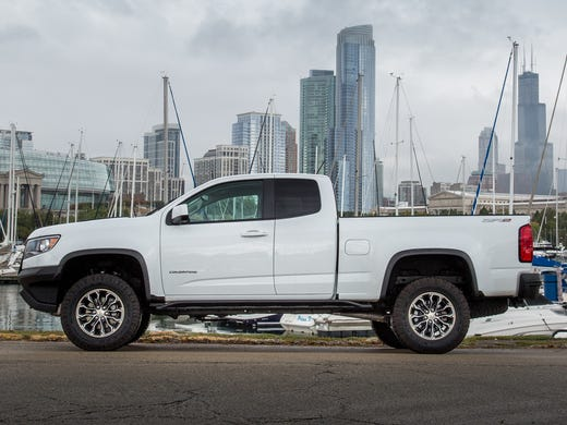 Review Chevrolet Colorado Zr2 Is Off Road Beast