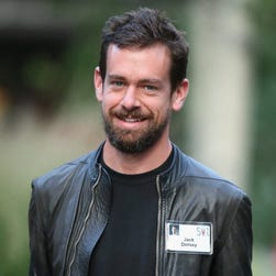 Jack Dorsey through the years