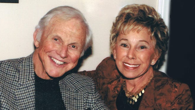Paul Napier with his wife, Marie, in 2009.