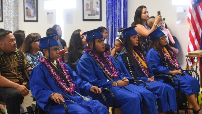 The Temple Baptist Christian School Senior Graduation Ceremony was held at the Temple Baptist Christian School in Chalan Pago on June 11.