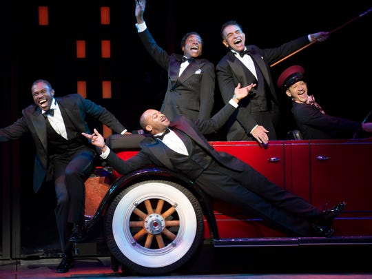 Joshua Henry, Brandon Victor Dixon, Billy Porter and