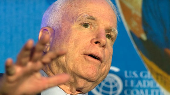 """An effort to broaden the Arizona Republican Party after its Jan. 25 censure of Sen. John McCain could spark a """"civil war,"""" one conservative says."""