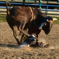Battle Creek teen had the longest bull ride of his life, then the bull fractured his skull