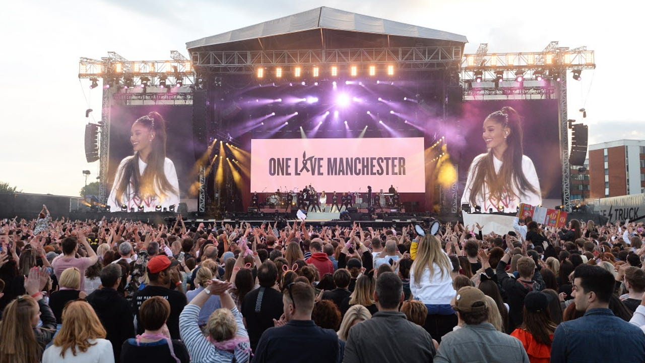 Image result for One Love Manchester concert