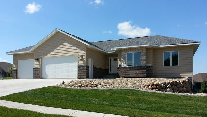 The house named South Dakota Home Builders Association project of the year is a Sioux Falls home built for charity.