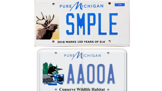 The state's new wildlife license will debut Dec. 1 and feature an elk, replacing the common loon that has been on the plates since 2001.