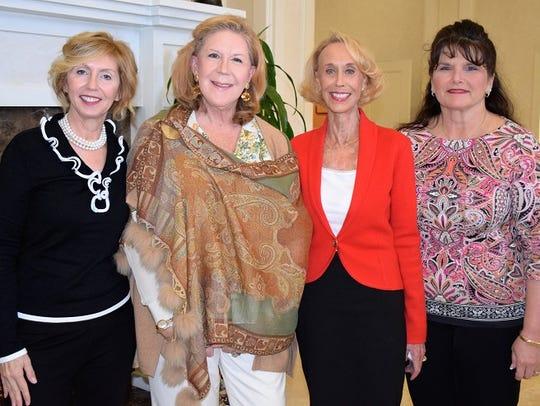 Carol Windsor, left, Jeannette Mahaney, committee members