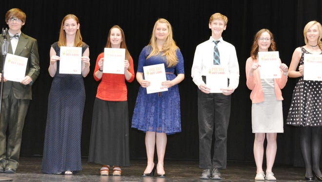 2016 Southern Utah Poetry OUt Loud finalists compete at the Electric Theater in St. George.