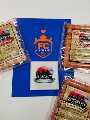 FC Cincinnati strikes deal to make Queen City Sausage's the official provider of meat products during games.