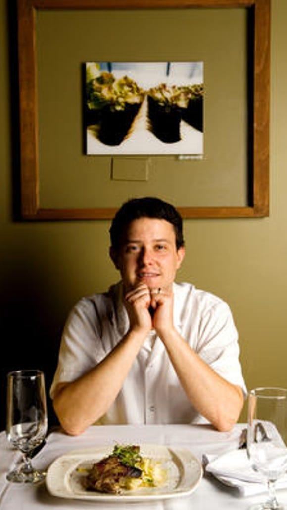 Art Rogers of Lento Restaurant.