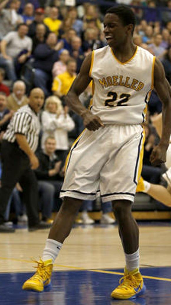 Trey McBride is one of Moeller's top players returning
