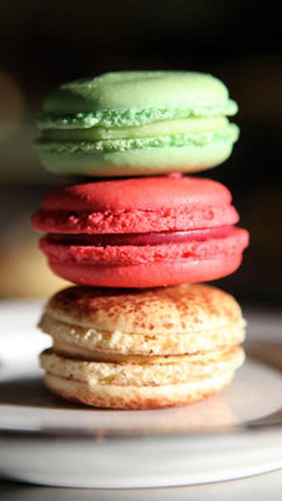 French macarons from Patisserie Didier Dumas in Nyack.